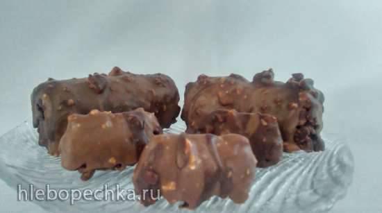 Мега шоколадные хрустящие пирожные