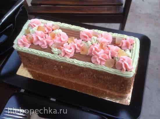 Торт «Сказка» по ГОСТу (книга Мархеля «Производство пирожных и тортов» 1973 г.)