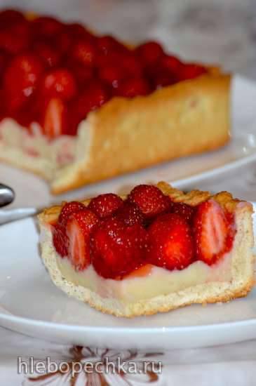 Клубничный тарт (по рецепту Дж. Чайлд) Клубничный тарт (по рецепту Дж. Чайлд)