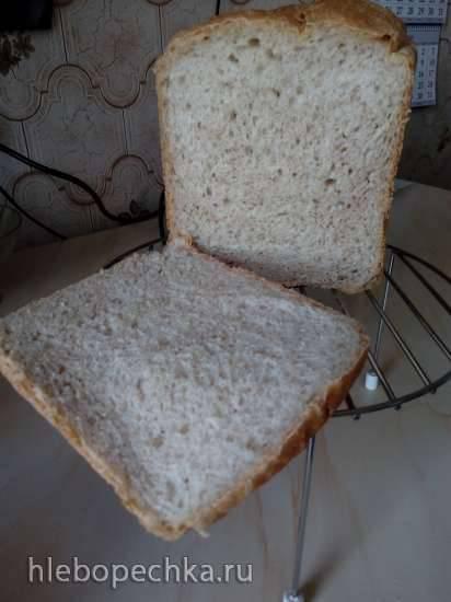 Хлеб из муки из цельного зерна (из книги рецептов к ХП Panasonic SD-2511/SD-2510)