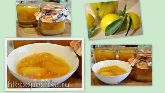 Абрикосовое варенье с апельсином и лимоном Варенье из абрикосов с апельсином и ромом