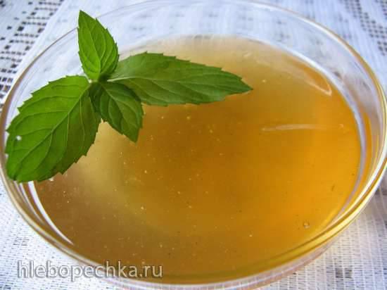 Мятно-лимонное варенье