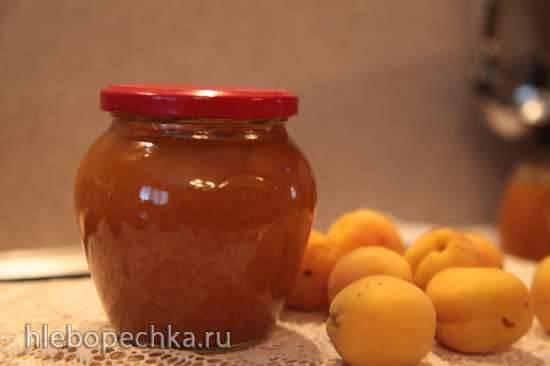 Абрикосовый джем с имбирем, корицей и перцем