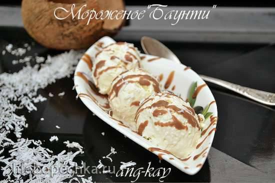 """Мороженое """"Баунти"""""""