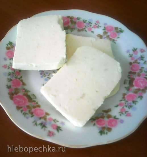 Сыр из одного только творога