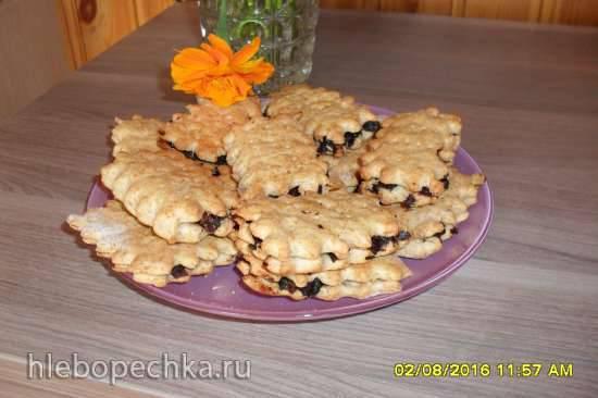 Печеньки с черносливом, полезные
