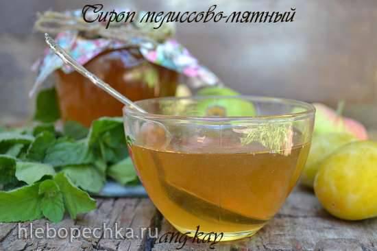 Сироп мелиссово-мятный