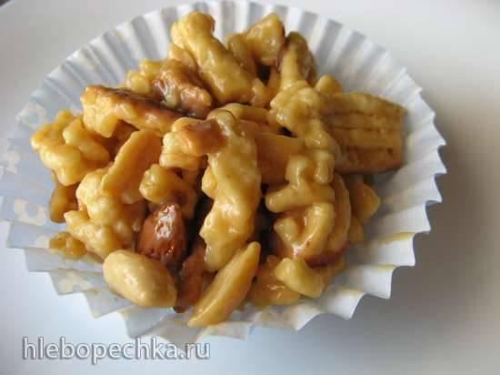 Торт Муравейник без сахара и яиц в тесте (порционный)