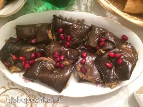 Баклажаны с орехами «Праздничные»