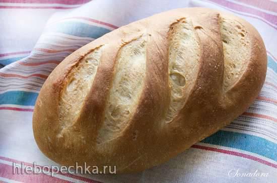 Батон пшеничный с манной крупой