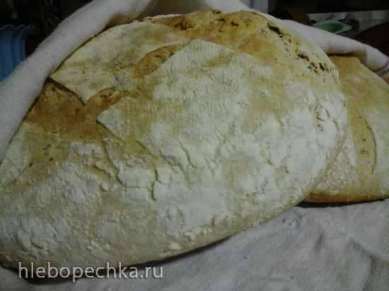 Пшеничный хлеб по мотивам Jefferey Hamelman