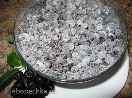 Цукаты из черноплодной рябины Цукаты из черноплодной рябины