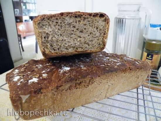 Ржаной европейский хлеб с мёдом и тмином