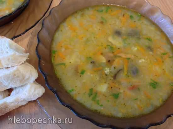 """Чешский суп """"Брамборачка"""" (Картофельная похлёбка) в Steba DD2"""