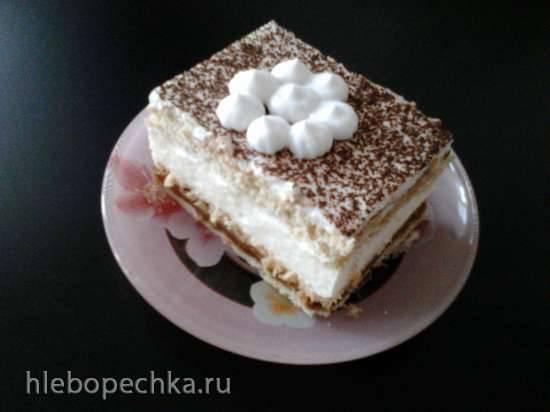 Торт Сказочный (Чизкейк без выпечки)