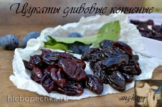 Цукаты из черноплодной рябины Цукаты сливовые копченые