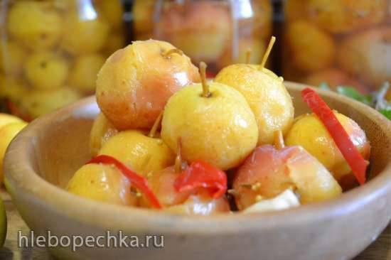 Китайка (райские яблочки) маринованная