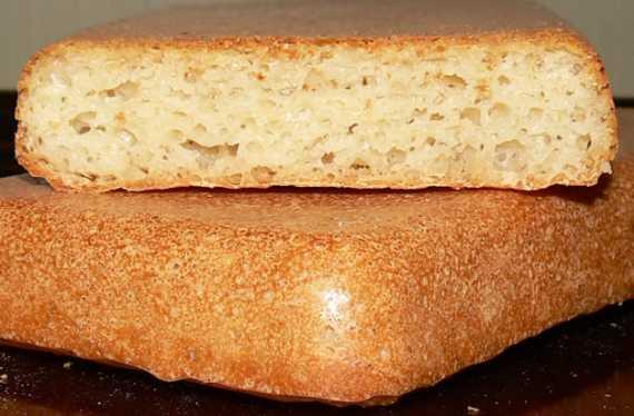 Хлеб на сыром картофеле с травами (духовка)