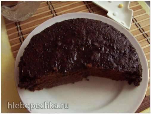 Шоколадный Пирог в мультиварке (недорогой, для ленивых)