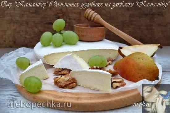 """Сыр """"Камамбер"""" в домашних условиях на одноименной закваске Сыр """"Камамбер"""" в домашних условиях на одноименной закваске"""