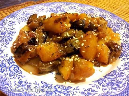 Ди Сань Сиень (три земных свежести), или Овощи по-китайски