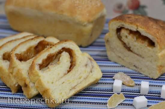Остро-сладкий карамельный хлеб