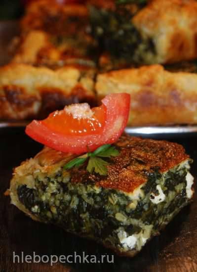 Деревенский греческий пирог