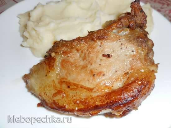 Жареная свиная корейка