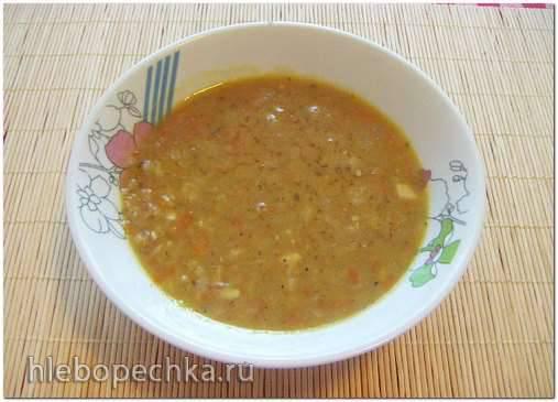 Гороховый зимний  суп