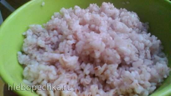 Красный рис *Самарканд* в мультиварке Philips 3060