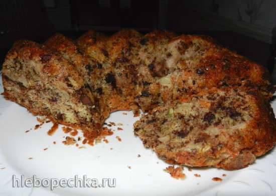 Грушевый пирог с шоколадом от Andy Chef