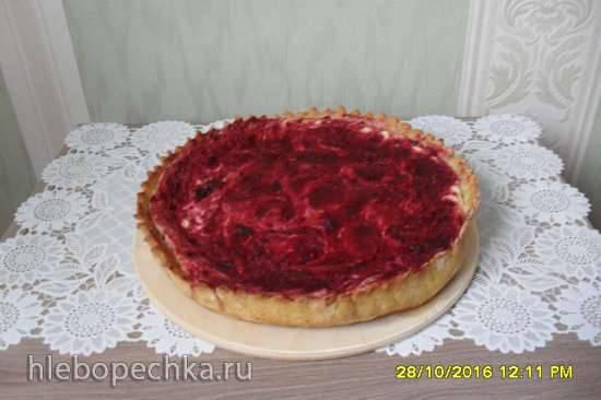 Диетический сливовый пирог-чизкейк Диетический сливовый пирог-чизкейк