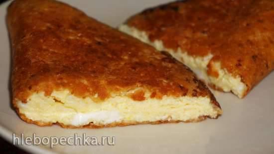 Омлет с хрустящей сырной корочкой