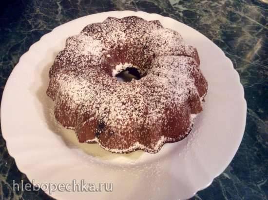 Кекс шоколадный с орехами (DEX-50)