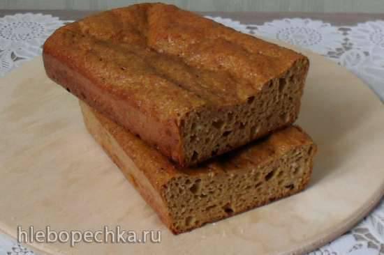 Хлеб кабачково-отрубной с псиллиумом