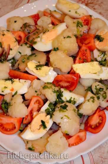Холодный салат из говядины а ля Парижанка
