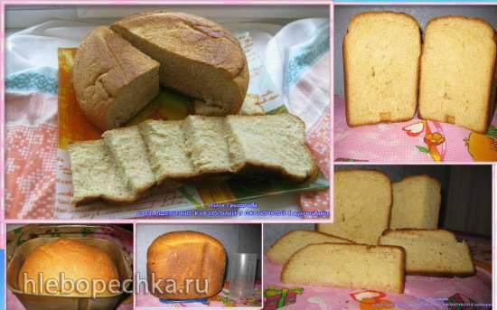 Хлеб пшенично-кукурузный с ржаночкой в мультиварке и в хлебопечке Хлеб пшенично-кукурузный с ржаночкой в мультиварке и в хлебопечке