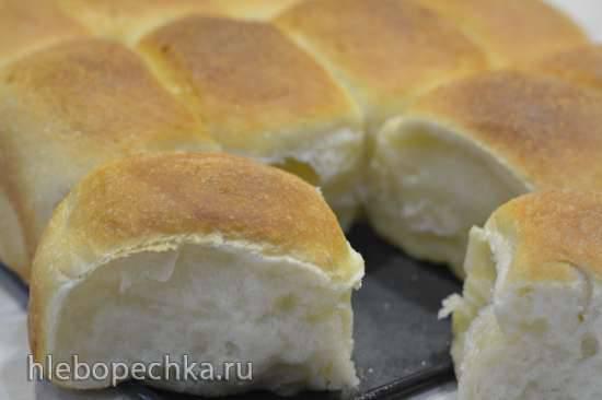 Булочки к обеду, методом Танг-Жонг Отрывные булочки, как у бабушки в детстве