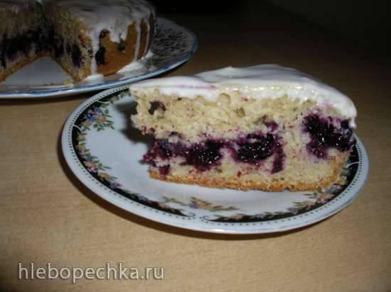 Ягодный пирог (очень простой) в мультиварке Polaris 0349 Ягодный пирог (очень простой) в мультиварке Polaris 0349