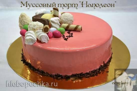 """Муссовый торт """"Наполеон"""""""