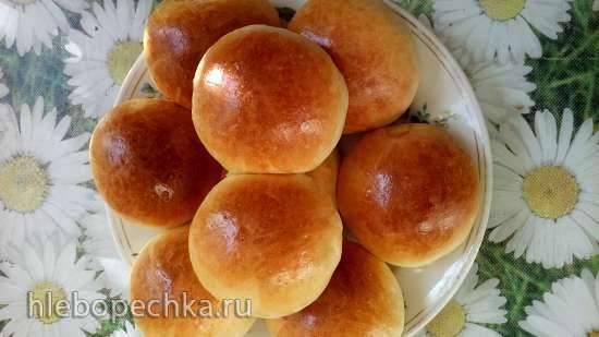 Сдобное тесто на закваске или жидких дрожжах Сдобное тесто на закваске или жидких дрожжах