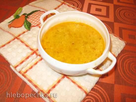 Куриный суп с кабачком, кукурузной крупой и сыром (мультиварка Redmond RMC-02, газовая панель) Куриный суп с кабачком, кукурузной крупой и сыром (мультиварка Redmond RMC-02, газовая панель)