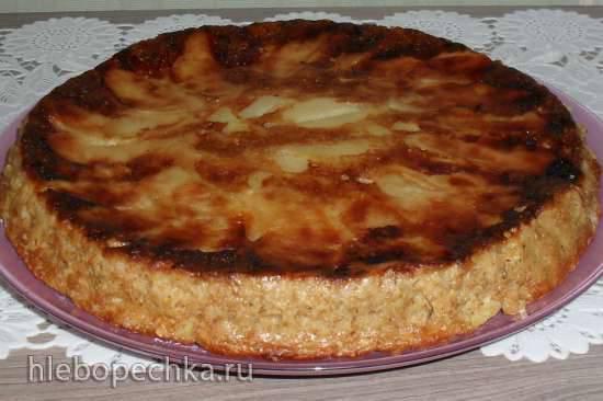 Лёгкий яблочный пирог-шарлотка № 2 Лёгкий яблочный пирог-шарлотка № 2