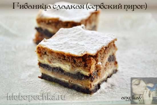 Гибаница сладкая (сербский пирог) Гибаница сладкая (сербский пирог)