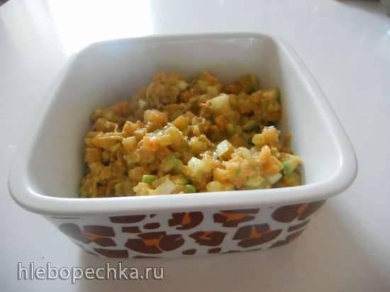 Салат из репы и авокадо для придерживающихся низкоуглеводных диет и диабетиков