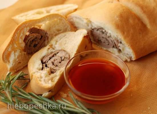 Тосканский хлеб с ягнятиной