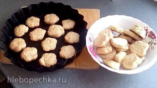 Постное печенье на рассоле Постное печенье на рассоле