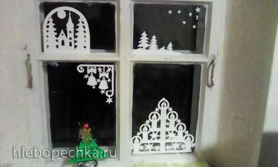 Украшение дома к Новому году Украшение дома к Новому году