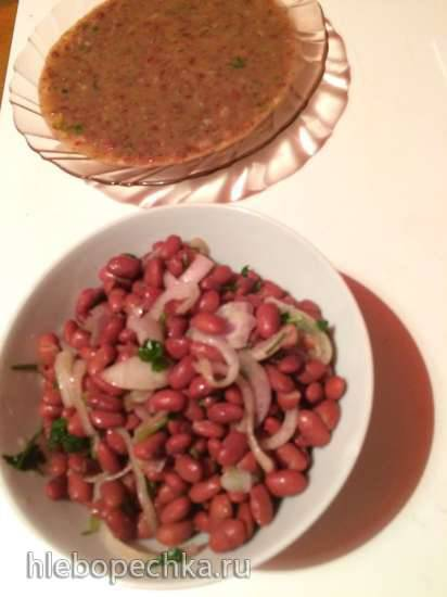 Суп из красной фасоли - лобио (Panasonic SR-TMH18)