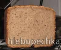 Ржано-гречишно-пшеничный хлеб на закваске от люки (печь М-5004)